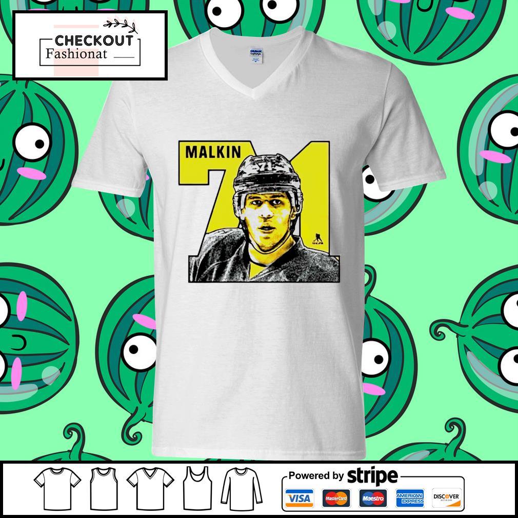 Evgeni Malkin 71 number guy v-neck t-shirt